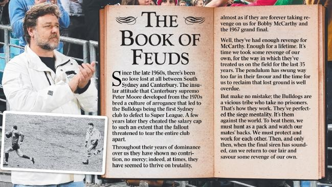 2008 Rabbitoh News - Book of Feuds Released